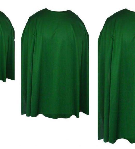 Emerald green capes