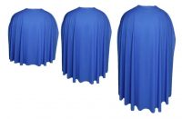 royal blue super hero cape set of 3