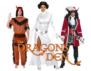 Super Hero Capes - The Dragons Den Promotion