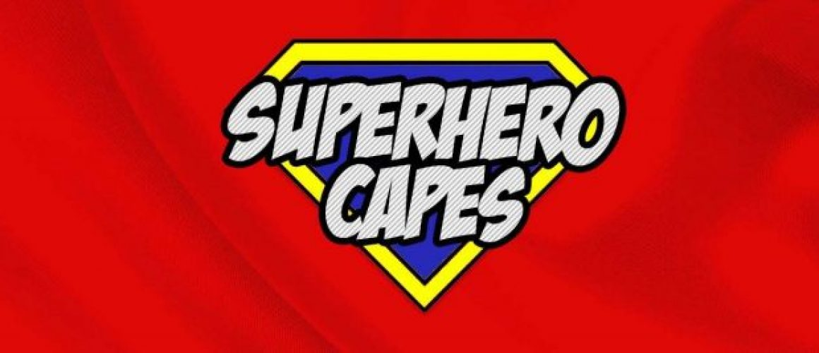 Super Hero Capes Fancy Dress Top Slider