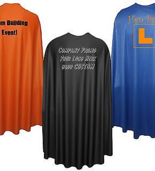 48″ Super Hero Cape Corporate Promotional Event Team Capes